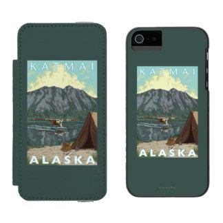 Bush Plane & Fishing - Katmai, Alaska iPhone SE/5/5s Wallet Case