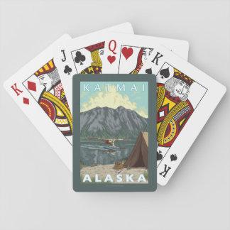 Bush Plane & Fishing - Katmai, Alaska Poker Deck