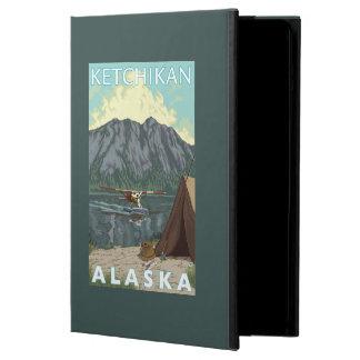 Bush Plane & Fishing - Ketchikan, Alaska iPad Air Cover