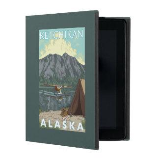 Bush Plane & Fishing - Ketchikan, Alaska iPad Case