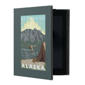 Bush Plane & Fishing - Ketchikan, Alaska iPad Folio Case