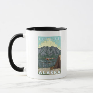 Bush Plane & Fishing - Latouche, Alaska Mug