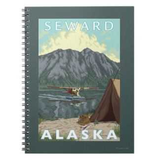 Bush Plane & Fishing - Seward, Alaska Notebooks