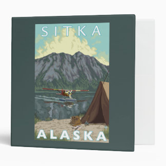 Bush Plane & Fishing - Sitka, Alaska Binder