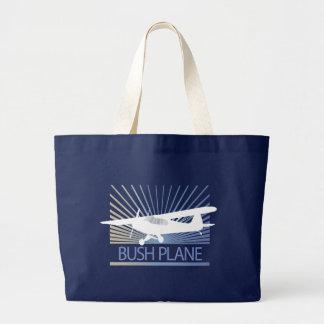 Bush Plane Large Tote Bag