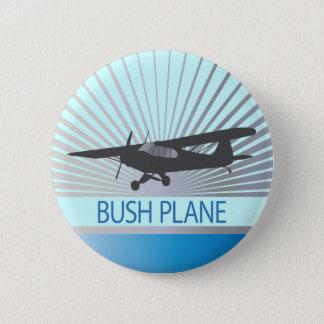 Bush Plane Pinback Button