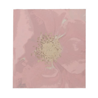 Bush Roses DullPastel Notepad