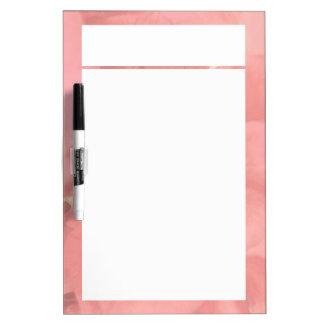 Bush Roses Mono Dry Erase Board
