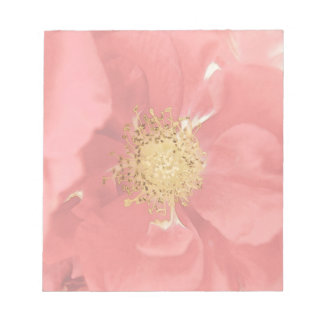 Bush Roses Mono Notepad