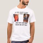 bush, sanford, riley, The devil tr... T-Shirt