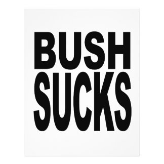Bush Sucks Flyer