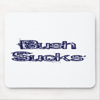 bush sucks mouse pads