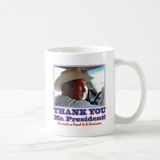 Bush-Thank-You-American Coffee Mug