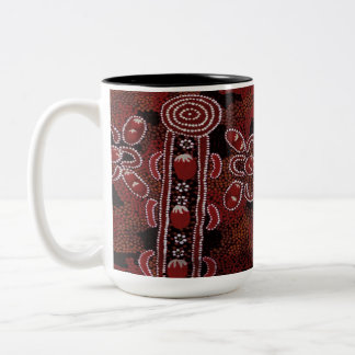 Bush Tomatos Two-Tone Coffee Mug