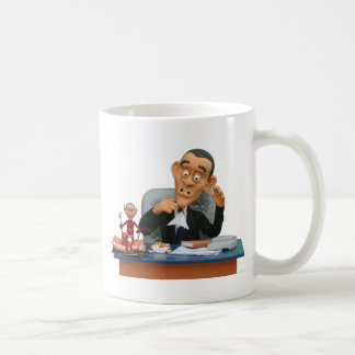 bush wants his chair back! mugs