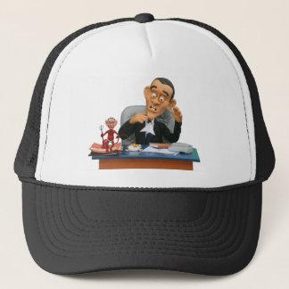 bush wants his chair back! trucker hat