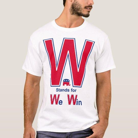 Bush Wins T-Shirt