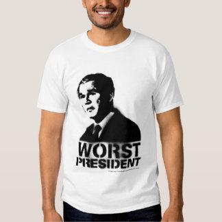 Bush Worst President Shirt