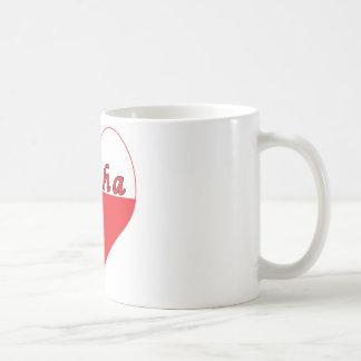 Busha Polish Heart Coffee Mug