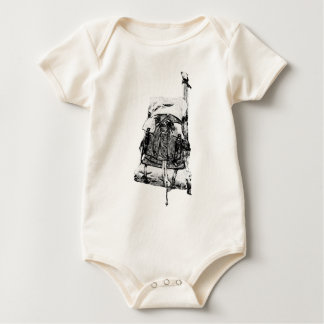 Bushcraft Backpack The Great Outdoors Baby Bodysuit
