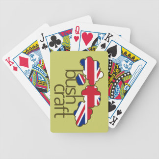 Bushcraft United Kingdom flag Bicycle Playing Cards