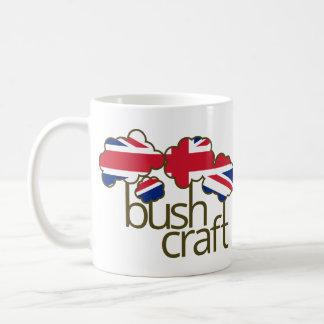 Bushcraft United Kingdom flag Coffee Mug