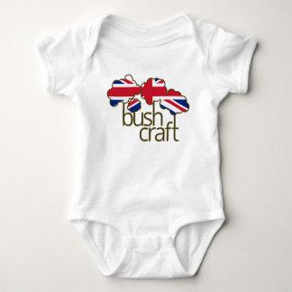 Bushcraft United Kingdom flag T Shirt