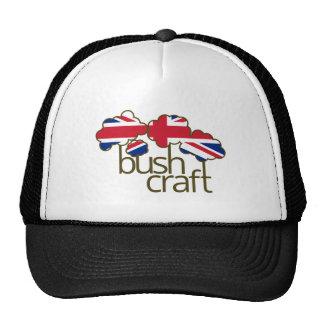 Bushcraft United Kingdom flag Trucker Hat