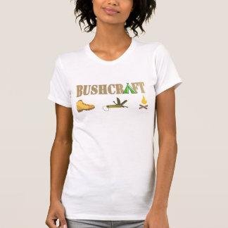 bushcraft wood look logo custom name tshirt 5