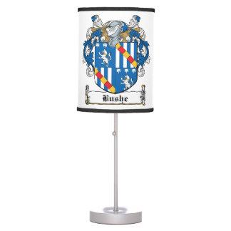 Bushe Family Crest Desk Lamp
