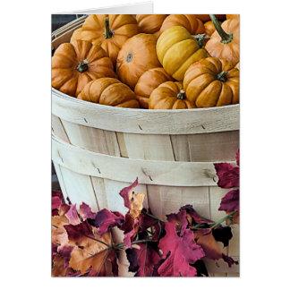 Bushel of Gourds Card