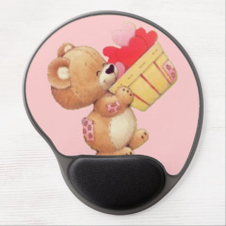 Bushel of Hearts Gel Mouse Pad