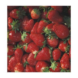 Bushel of Strawberries Canvas Print