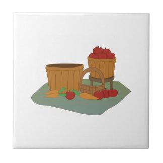 Bushels of Apples Tiles