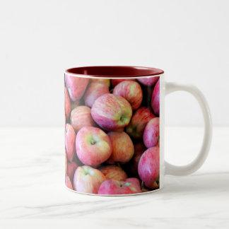 Bushels Of Apples Two-Tone Coffee Mug