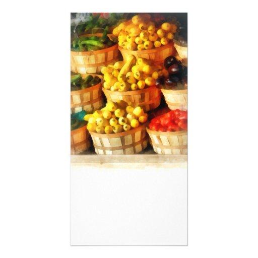 Bushels of Flavor Photo Card Template