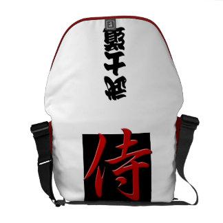 BUSHIDO back:SAMURAI Courier Bag