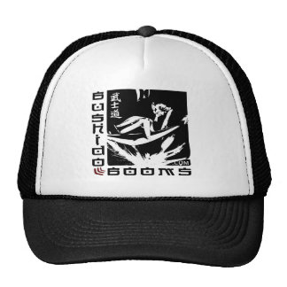 Bushido Booms Logo Trucker Hat