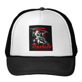"""Bushido""  by Carter L. Shepard Trucker Hat"