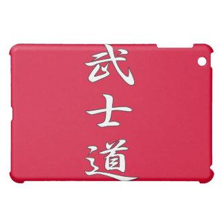 BUSHIDO KANJI red iPad Mini Cases