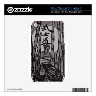 Bushido Moon light iPod Touch 4G Decals