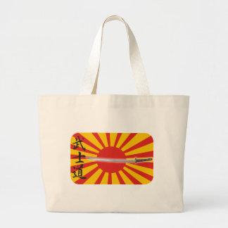 """Bushido"" The way of the warrior Jumbo Tote Bag"