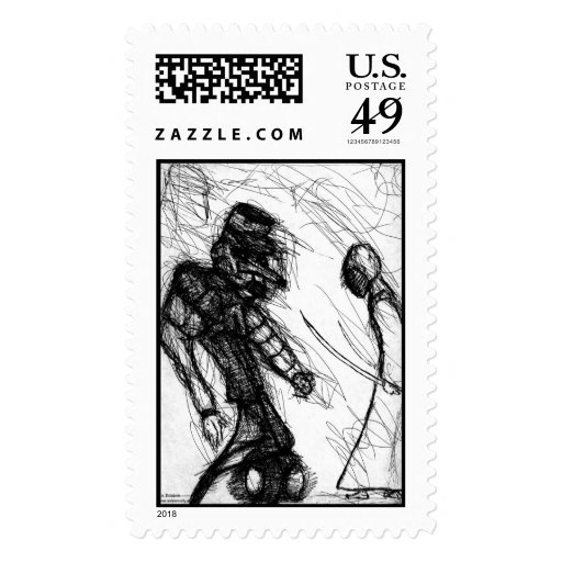 Bushido Vs Robot Stamp