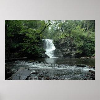Bushkill Falls in the Poconos. print 008
