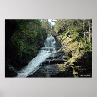 Bushkill Falls in the  Poconos. print 0226