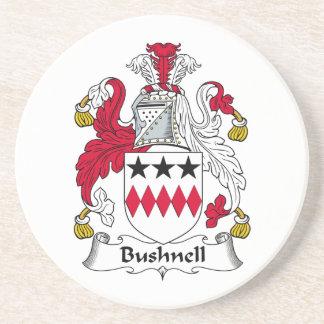 Bushnell Family Crest Coaster