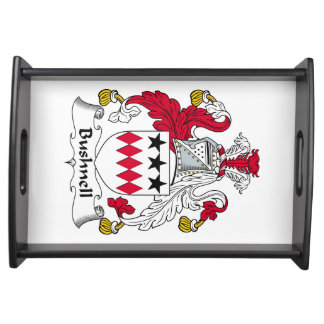 Bushnell Family Crest Food Trays