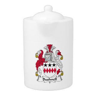 Bushnell Family Crest Teapot