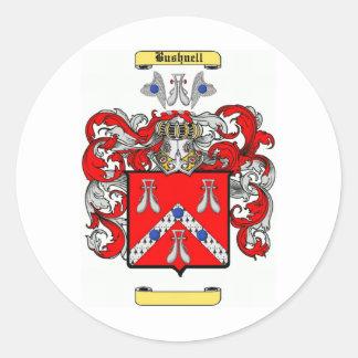 bushnell classic round sticker
