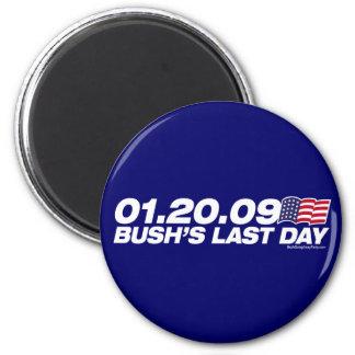 Bush's Last Day Magnet